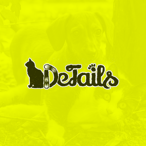 Shop brand with the title 'Logo for Online Pet Shop'