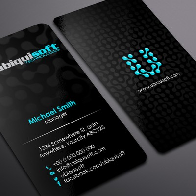 Ubiquisoft Technologies needs a new stationery