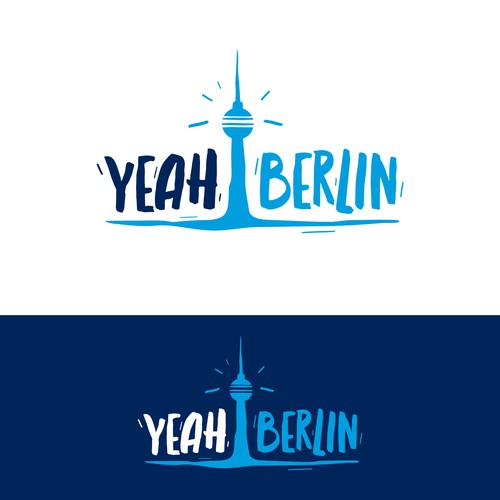"Berlin design with the title 'Logo-Design ""YEAHBERLIN""'"