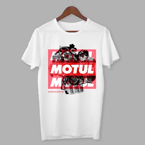 Motor t-shirt with the title 'Motul T-shirt '