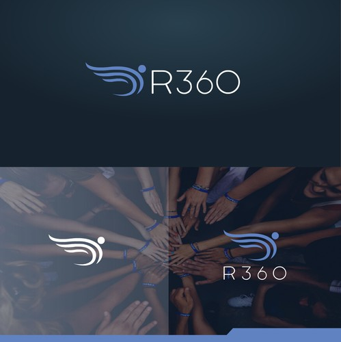 Sketchbook logo with the title 'R360 community logo'