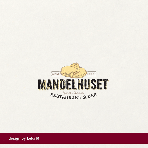 Bar brand with the title 'Mandelhuset'