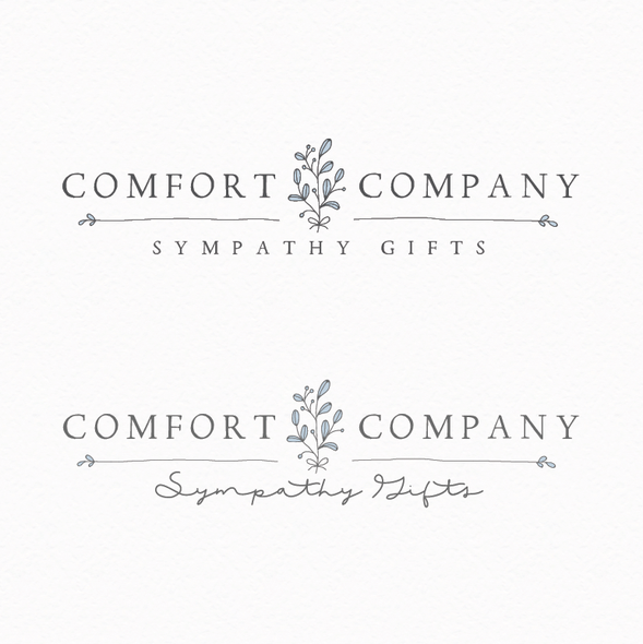 Comfort logo with the title 'The comfort company'