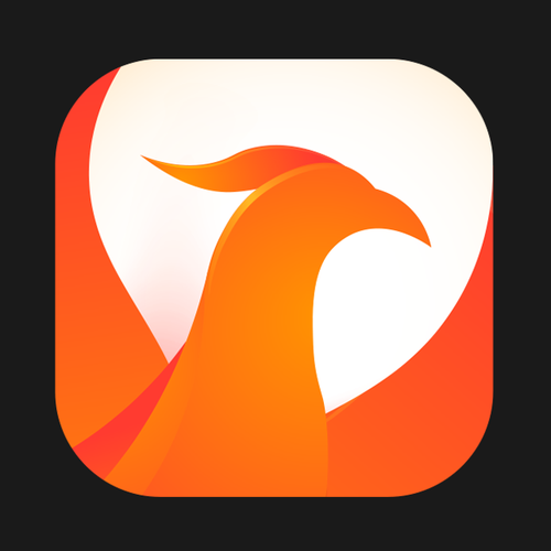 Phoenix design with the title 'Phonex Icon'