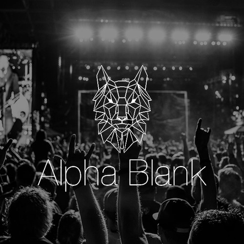 Alpha design with the title 'Alpha Blank'