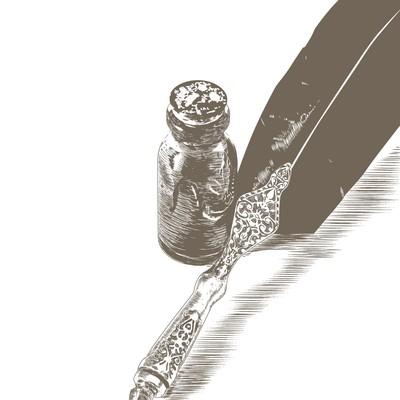 Illustration for novel