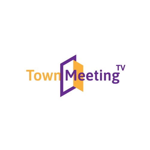 Channel logo with the title 'Town Meeting TV'