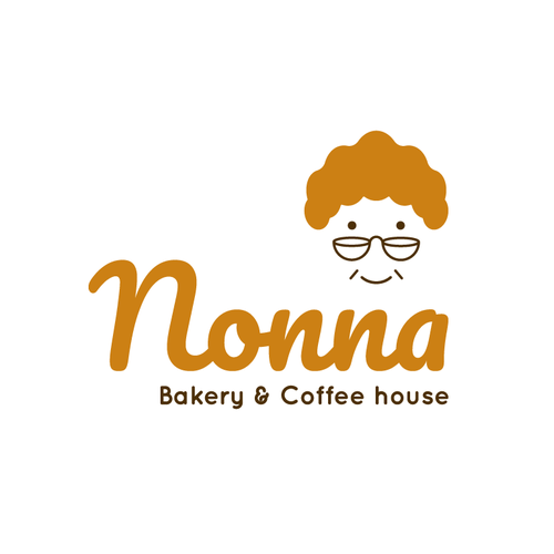 Grandma design with the title 'Nonna'