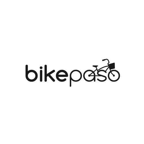 Green and grey logo with the title 'Bike Paso'