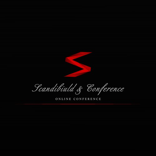 Sharp brand with the title 'Logo concept for Scandibiuld-&-Conference'