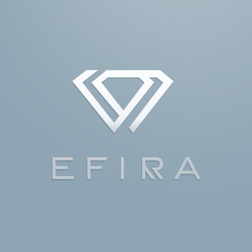 Elegant logo with the title 'Jewelry logo'