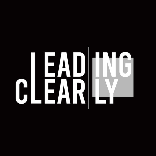 Lead logo with the title 'Leading Clearly Brand - LOGO'
