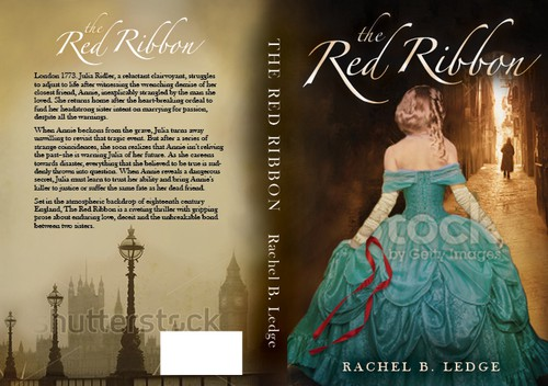 English design with the title 'The Red Ribbon book cover'
