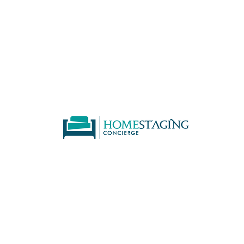 Concierge service logo with the title 'Homestaging'