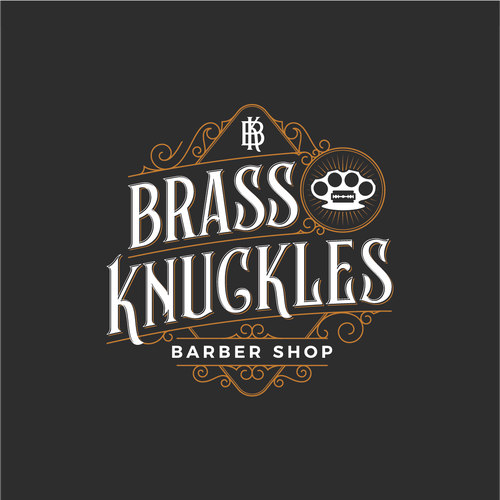 Ornament design with the title 'Brass Knuckles'