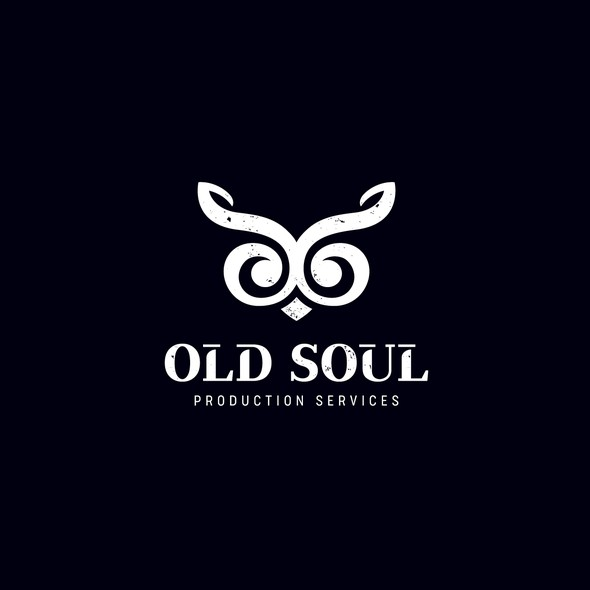 Treble clef logo with the title 'Old Soul Production Service'