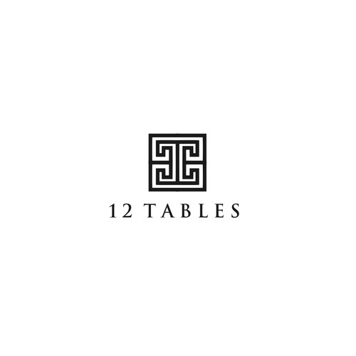 Government logo with the title '12 tables'