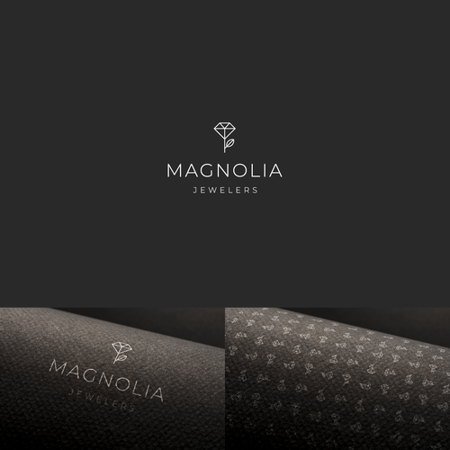 Jewelry brand with the title 'Magnolia'