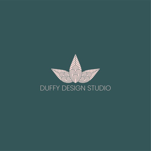 Foliage design with the title 'Logo design for an Interior Design Studio'