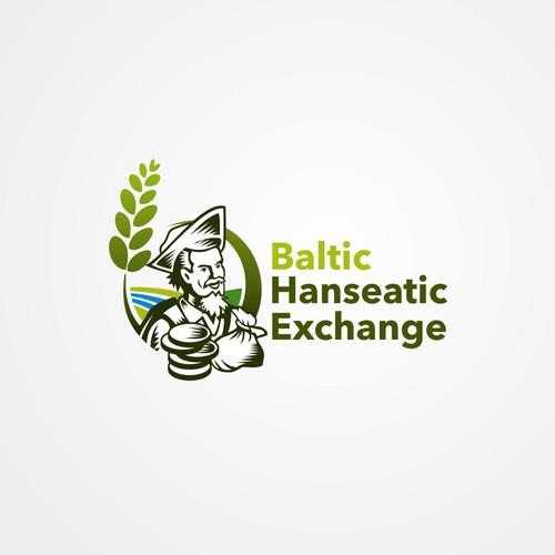 Exchange logo with the title 'Logo für eine neue Börsenveranstaltung in Riga'