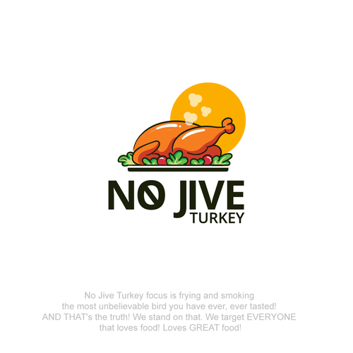 Turkey logo with the title 'NO JIVE TURKEY'