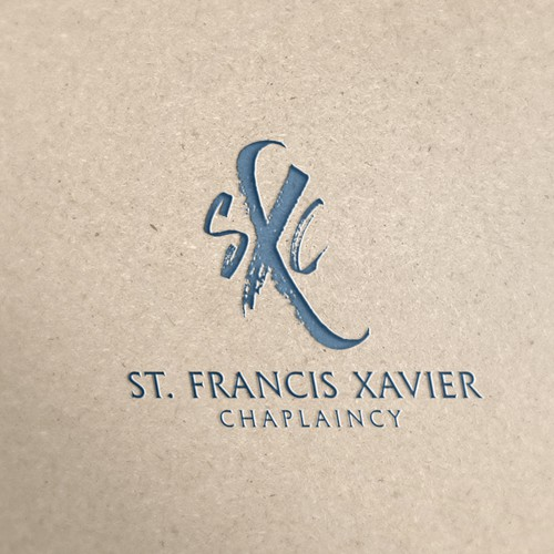Catholic logo with the title 'St. Francis Xavier Chaplaincy'