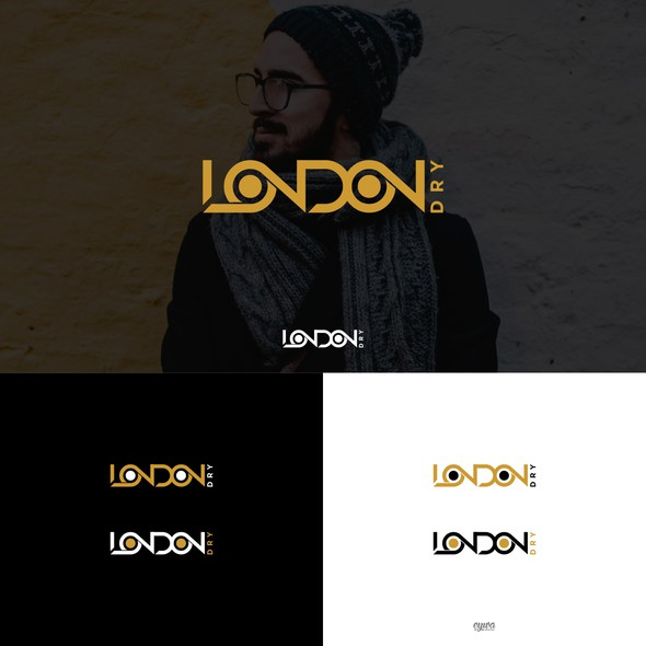 Jacket logo with the title 'LONDON DRY'