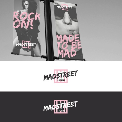 Sister logo with the title 'Madstreet'