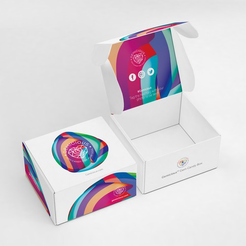 Trendy packaging with the title 'BOLD SUBSCRIBTION BOX FOR SALE'