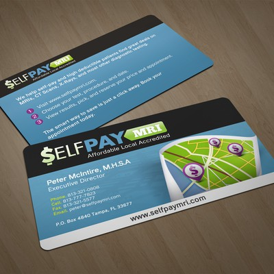 stationery for SelfPayMRI.com