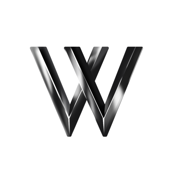 Chrome design with the title '3D logo'