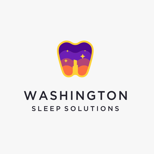 Washington design with the title 'Washington Sleep Solutions'