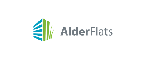 Residence design with the title 'Help Alder Flats with a new logo'