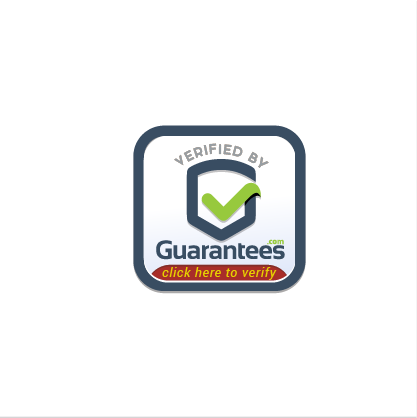 Security illustration with the title 'Simple Logo Concept for Guarantees.com'