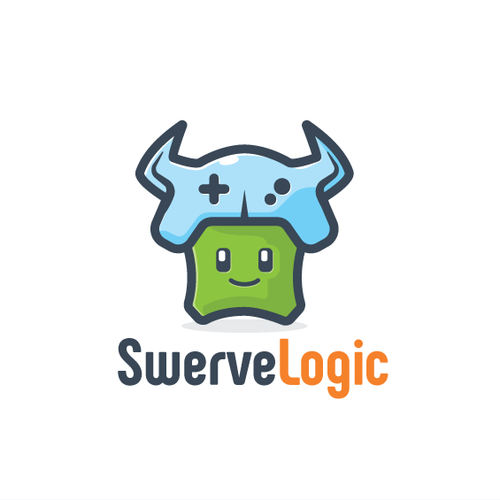 Internet logo with the title 'Fun Gaming Character'