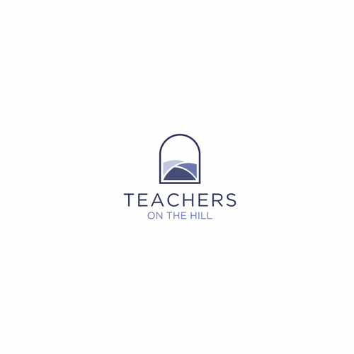 Meaningful logo with the title 'TEACHERS ON THE HILL'