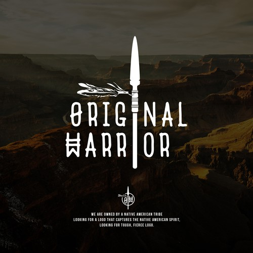 Tribe logo with the title 'ORIGINAL WARRIOR'