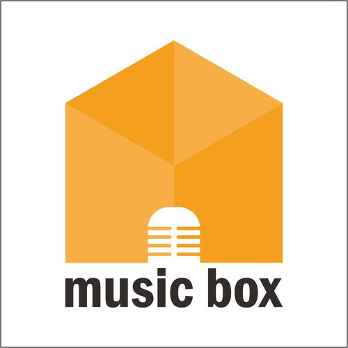 Karaoke logo with the title 'Music Box'