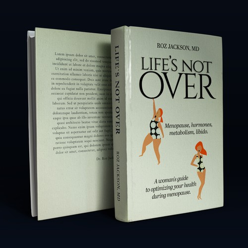 Clean book cover with the title 'Life's Not Over '