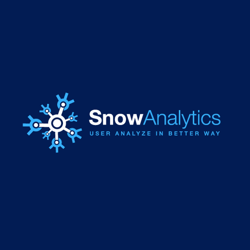 Snow design with the title 'Create a logo for SnowAnalytics.CA a website for skiers and snowboarders!'