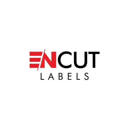 Cut logo with the title 'Simple logo for laser cutting company'