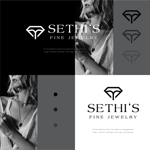 Relationship logo with the title 'Sethi's Fine Jewelry'