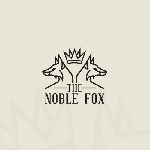 Noble design with the title 'the Noble Fox'