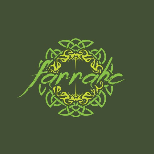 Celtic logo with the title 'farrahc'