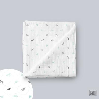 Organic muslin swaddle blanket