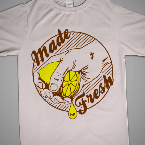 Badass t-shirt with the title 'Create a t-shirt design for Made Fresh Clothing'
