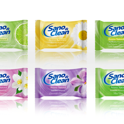Sano Clean, Natural Aroma soaps line