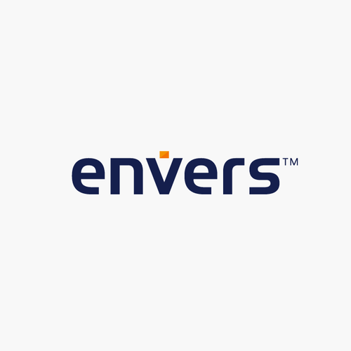 Security brand with the title 'Logo concept for envers'