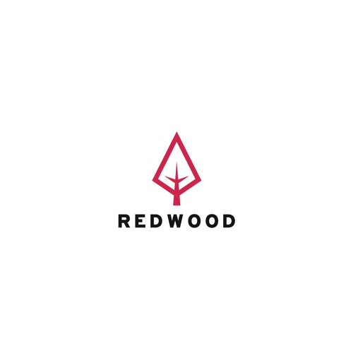 Redwood design with the title 'Redwood logo'