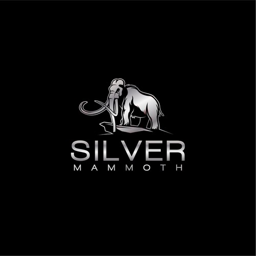 Mammoth logo with the title 'Silver Mammoth'